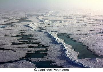 北方, 冰, 桿, 填塞