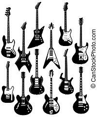 十二, 電吉他