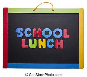 午餐, 課, 學校