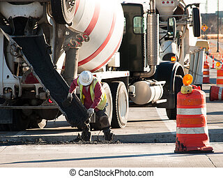 卡車, 水泥混和器