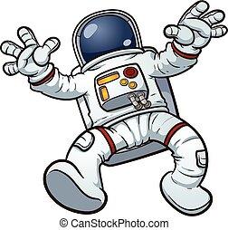 卡通, 宇航員
