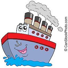 卡通, 小船