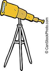 卡通, 望遠鏡