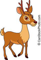 卡通, 鹿