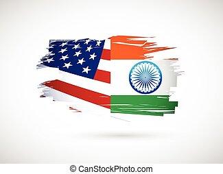 印度, 設計, 美國, 插圖