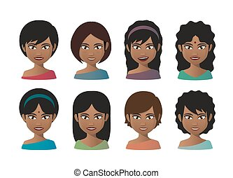 印第安語, 年輕婦女