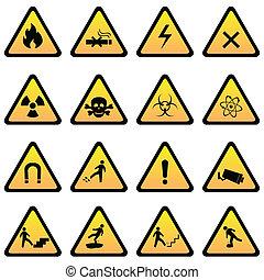 危險, 警示