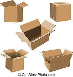 厚紙箱, 集合