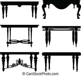 古董, 桌子, 古老, 第一流