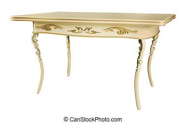 古董, 桌子, 3d