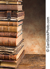 古董, 模仿, 書, 空間
