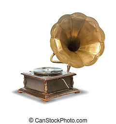 古董, 留聲機, 老