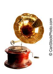 古董, 留聲機, 被隔离