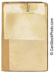 古董, 筆記本, 紙