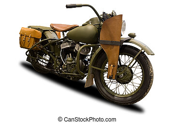 古董, 軍事, 摩托車