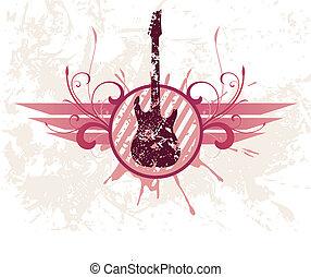 吉他, grunge