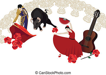 吉普賽舞, bullfighting
