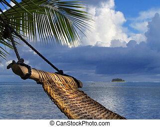 吊床, 海灘