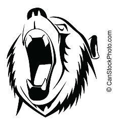 吼聲, 熊