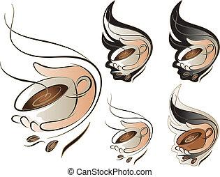 咖啡具, 簽署