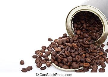 咖啡豆, 罐頭能