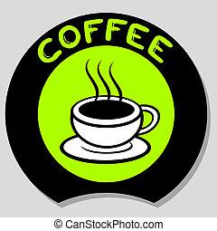 咖啡, 圖象