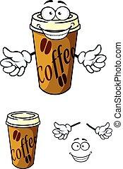 咖啡, 買回來吃的食物, 杯子