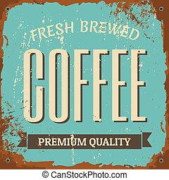 咖啡, 金屬標誌