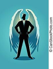 商人, 插圖, 天使