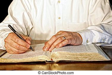 商人, 聖經, 學習