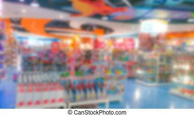 商店, 摘要, 玩具, 迷離