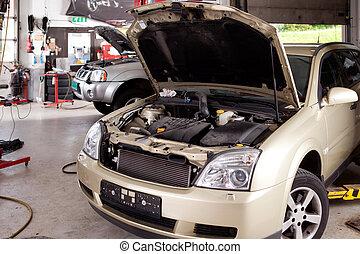 商店, 汽車修理
