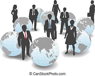 商業界人士, 全球, 勞工, 隊, 世界