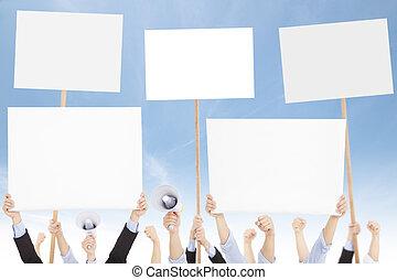 問題, 或者, 人們, 針對, 人群, 社會, protested, 政治