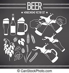 啤酒, 集合