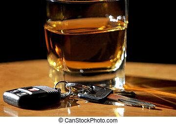 喝酒, 開車, &