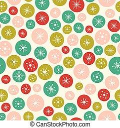 圈子, projects., 圖案, seamless, 表面, stars., 明亮, 矢量, 設計, 背景, 聖誕節, 理想