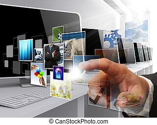 圖像, 流, 網際網路