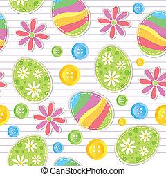圖案, 復活節, seamless