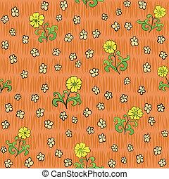 圖案, 摘要, 花, seamless, 背景