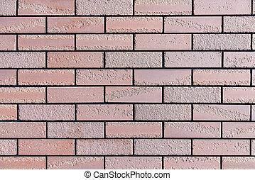 圖案, 背景, 牆, 紅的磚