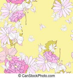 圖案, 花