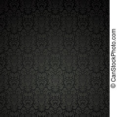 圖案, 黑色, seamless