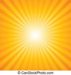 圖案, sunburst