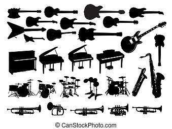 圖象, 儀器, 音樂
