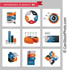 圖象, 元素, infographics