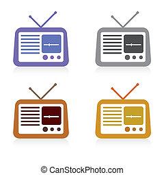 圖象, 集合, 收音机, 矢量