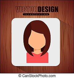 圖象, avatar, 設計