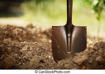 土壤, 鏟