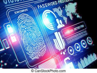 在網上, 安全, 技術